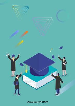 ブルー簡単な卒業シーズン博士の学生背景 , 博士, 大学, 学位 背景画像