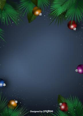 크리스마스 장식 공 식물 장식 배경 , 크리스마스, 식물학, 그린 배경 이미지