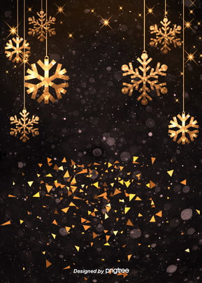 luxury gold black winter snow background , Winter, Winter, Extravagant Gold Background image