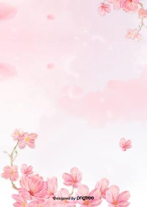 ピンクの花の背景 , すがすがしい, バレンタインデー, ロマンチック 背景画像