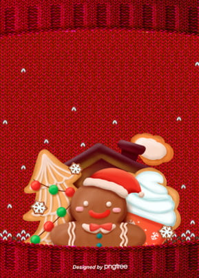 red christmas poster background , Christmas Tree, Poster, Red Background image
