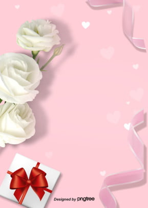 Pink Day poster nền lãng mạn Tươi Tỉnh Nhỏ Hình Nền