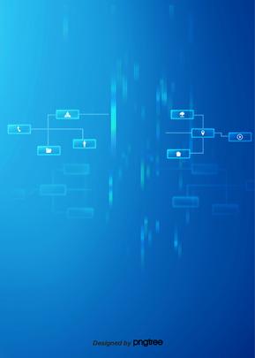 Blue business technology background A Informação Business Imagem Do Plano De Fundo
