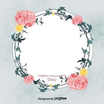 हाथ से पेंट महिला दिवस पुष्प व्यापार पृष्ठभूमि , 38 महिला दिवस पृष्ठभूमि, महिला दिवस के पोस्टर, पत्ते पृष्ठभूमि छवि