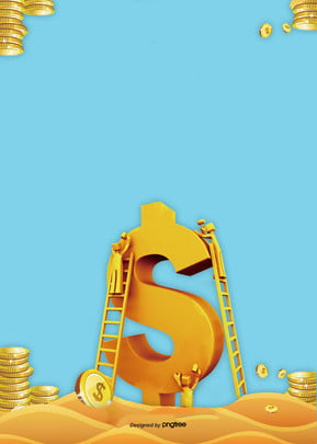financial background of golden wealth , Business Affairs, Ladder, Conduct Financial Transactions Background image