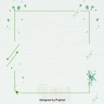 清新綠色邊框背景 , 動感, 清新, 簡約 背景圖片