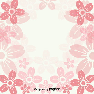 pngtree japanese gradual cherry blossom aesthetic background image 3990