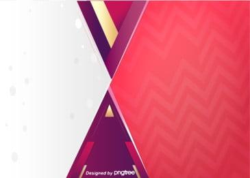लाल सरल ज्यामितीय पैटर्न पृष्ठभूमि, त्रिकोण, ज्यामिति, दौर पृष्ठभूमि छवि