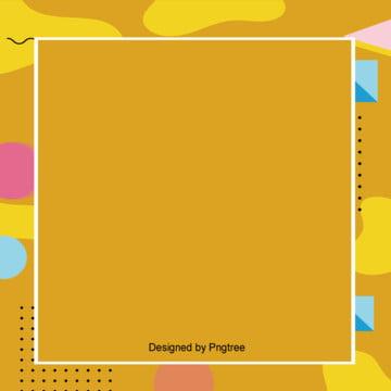 पीले रंग ज्यामितीय सीमा पृष्ठभूमि , ज्यामिति, सरल, पृष्ठभूमि डिजाइन पृष्ठभूमि छवि