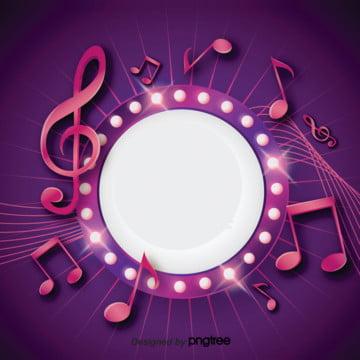 गतिशील संगीत प्रतीक पृष्ठभूमि डिजाइन , गतिशील, रोशनी, प्रतीक पृष्ठभूमि छवि