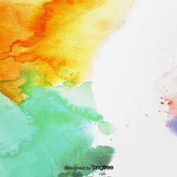 背景顏色水彩墨水飛濺 , 顏色, 水彩, 潑墨水 背景圖片