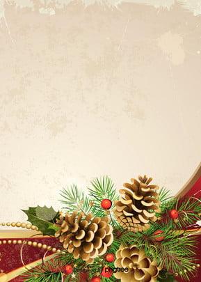 クリスマスツリーの装飾背景 , 冬, クリスマス, 松の果 背景画像