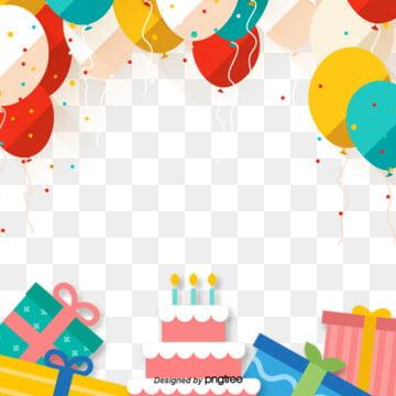 decoração de festa de aniversário cor de fundo , Camada De Bolo, Color, O Balão Imagem de fundo
