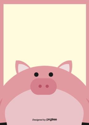 o fundo cor   de   rosa bonito design , Animal, Linda, O Porquinho Imagem de fundo