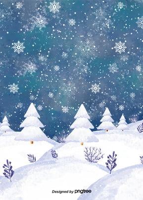 सर्दियों के पेड़ बर्फ पृष्ठभूमि डिजाइन , बर्फ, सर्दियों, ठंड पृष्ठभूमि छवि