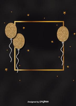 金色の立体星のフレームの背景 , 星, 立体, 装飾をする 背景画像