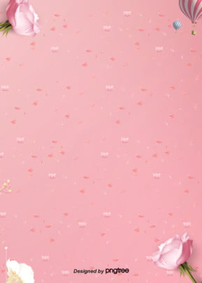 pink flower decorative background , Wedding Celebration, Valentines Day, Rose Background image