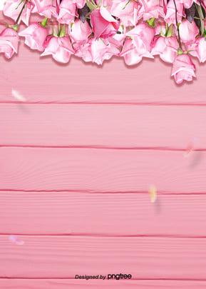 pink flower decorative background , Wedding Celebration, Valentines Day, Botany Background image