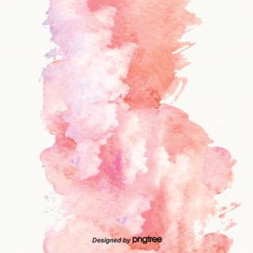 粉紅色的水彩墨水濺背景 , 水彩, 潑墨, 漸變 背景圖片