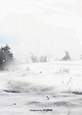 cảnh quan thiên nhiên nền tuyết mùa đông , Tuyết Rơi, Mùa Đông, Cây Ảnh nền