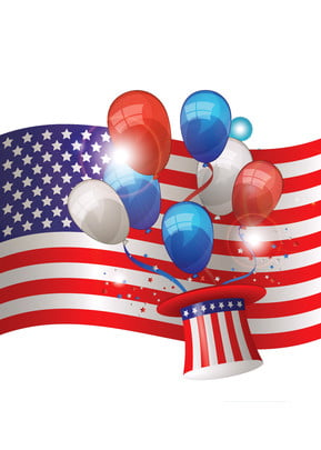 the background of american flag independence day celebration , National Day, Celebrating, Color Background image