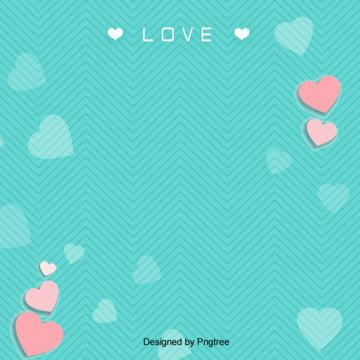 清新情人節背景設計 , 情人節, 浪漫, 簡約 背景圖片