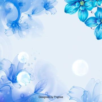 簡素な花の花の美容の化粧品の販促の背景 , 販促, 唯美, 春 背景画像