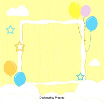 Cute cartoon crianças comemorando o contexto de formação Promoção Cartoon Linda Imagem Do Plano De Fundo