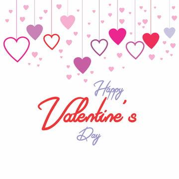 हैप्पी वेलेंटाइन दिवस प्यार दिल के साथ गुलाबी वेक्टर , कला, पृष्ठभूमि, जोड़ा पृष्ठभूमि छवि