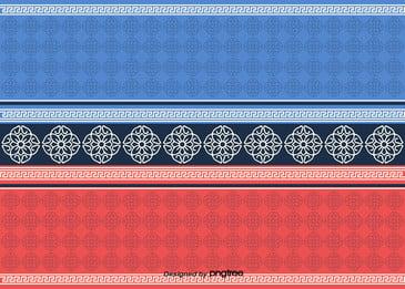 tradisional korea pola latar belakang corak, Tradisional, Corak, Merah imej latar belakang
