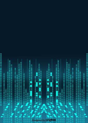 नीले अरबी अंकों बाइनरी कोड प्रौद्योगिकी पृष्ठभूमि , बाइनरी, कोड, प्रकाश संवेदक पृष्ठभूमि छवि