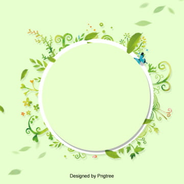 綠色清新花卉立春春天背景 , 春天, 清新, 綠色 背景圖片