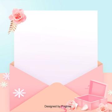 粉色溫馨情人節背景 , 情人節, 浪漫, 玫瑰花 背景圖片