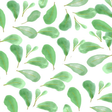 tree leaf wallpaper background , Folha Verde, Folhas Verdes, Pintadas à Mão Fundo Imagem de fundo