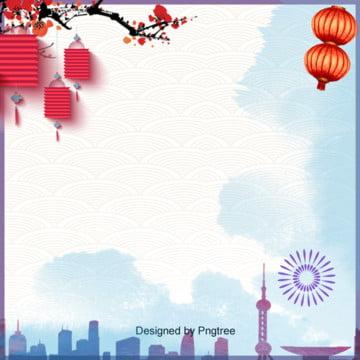 उत्सव नए साल लालटेन शहर पृष्ठभूमि , दो हजार उन्नीस, शहर, नए साल पृष्ठभूमि छवि