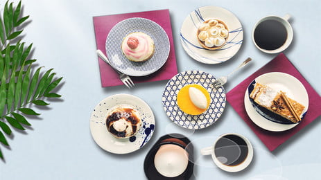रचनात्मक दोपहर चाय की मिठाई दोपहर की चाय खाद्य, चाय, खाद्य, हर्बल पृष्ठभूमि छवि
