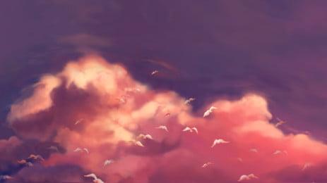 Fundo de cartaz lindo céu Linda Cloud Cloud Sky Criativo Design Poster Plano de fundo Fundo De Cartaz Imagem Do Plano De Fundo