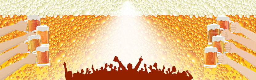 beer festival background passion carnival, Cheers, Celebrate, Yellow Background image