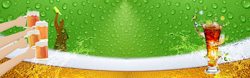 beer festival green beer background, Celebrate, Gradient, Water Droplets Background image