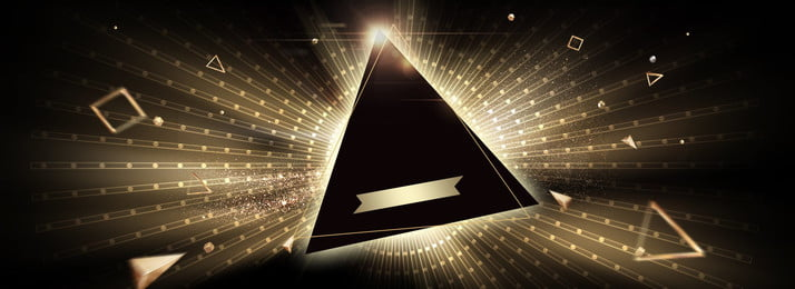 Black Triangle Starlight Gold, Shock, Atmosphere, Simple, Background image