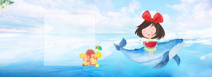 藍色清涼夏季鯨魚背景 藍色 清涼 夏季 鯨魚 背景 紋理 夏季 休閒 白雲 藍色 清涼 夏季背景圖庫