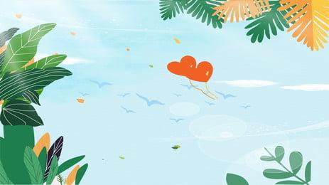 夏の新鮮な漫画の質感の広告ポスター 青い空 白い雲 愛してる 夏 新鮮な 漫画 テクスチャ 広告宣伝 ポスター 青い空 白い雲 愛してる 背景画像