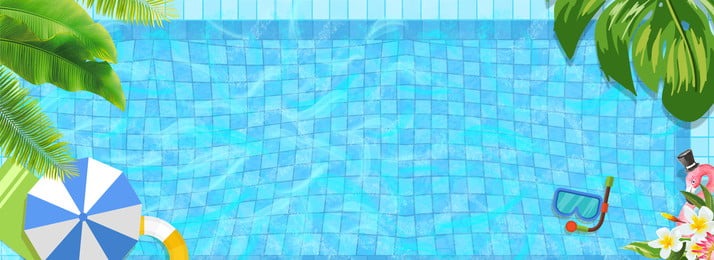 藍色水面清涼夏日背景 藍色 紋理 清涼 夏日 遮陽傘 休閒 娛樂 藍色 紋理 清涼背景圖庫
