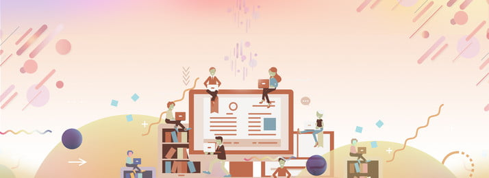 教育培訓創意合成 書籍 教育 藍天 色彩 創意 思維 平台 數據 進步, 書籍, 教育, 藍天 背景圖片