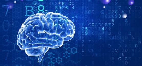 brain technology code digital, Business, Simple, Blue Background image