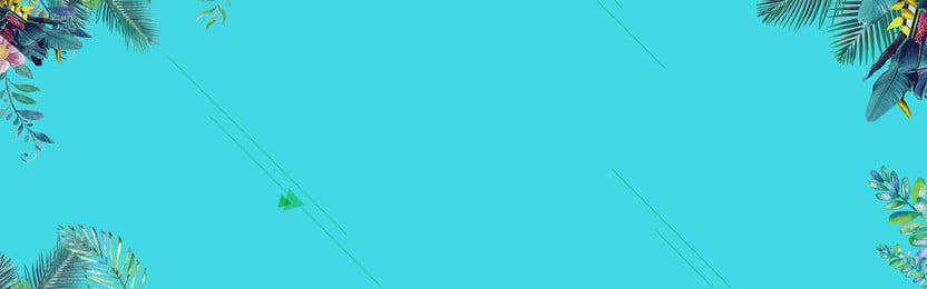 水彩ココの葉の背景 漫画 手描き 行 グリーン ココナッツの木 葉っぱ グリーン 夏の背景 1 漫画 手描き 行 背景画像