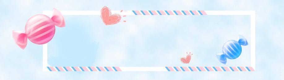 Cartoon nền light banner nền màu xanh Phim hoạt hình Cho Em Nền Hình Nền