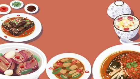 china food hunan cuisine delicious, Food, Poster, China Background image