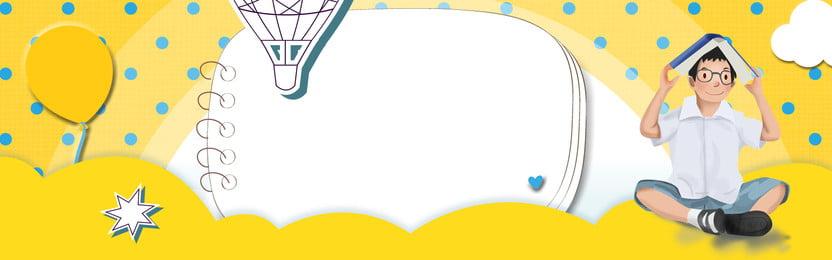 màu vàng dễ thương sinh viên đọc sách biểu đồ tuyển sinh đại học kỳ thi tuyển, Sinh, Sách, Nhật Ảnh nền
