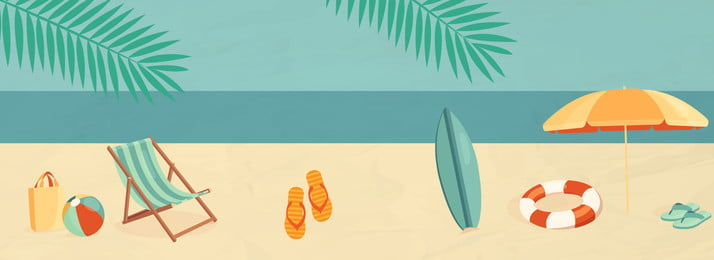 彩色海邊度假背景 彩色 沙灘 海邊 度假 植物 椰子樹 環境 紋理, 彩色, 沙灘, 海邊 背景圖片